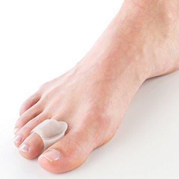 Separador de Dedos com Anel Pode ser usado com sapatos abertos